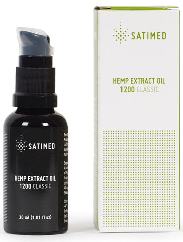 Hemp Extract Oil 1200 Classic