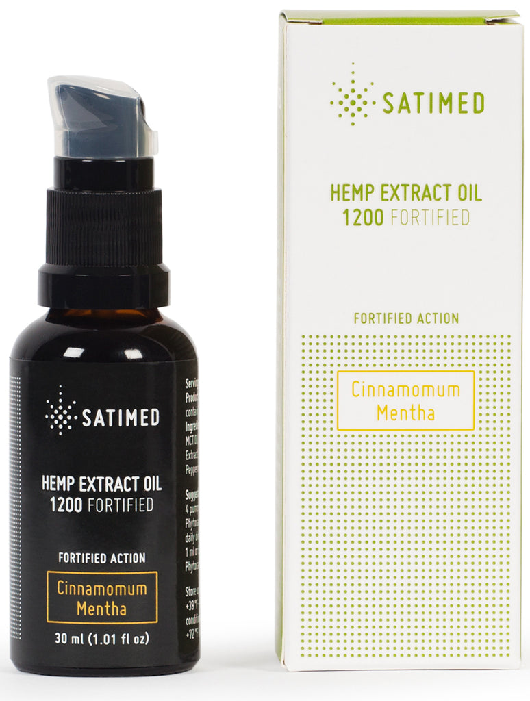 Hemp Extract Oil 1200 Fortified