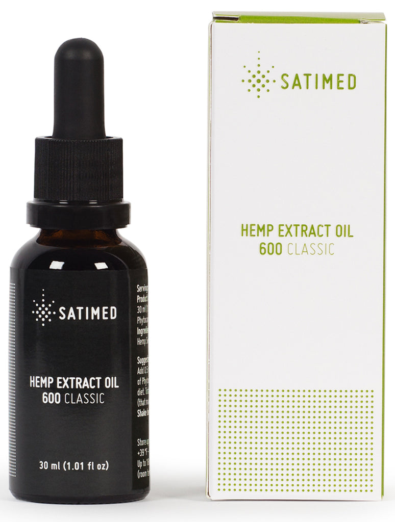 Hemp Extract Oil 600 Classic