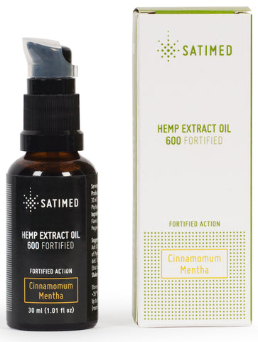 Hemp Extract Oil 600 Fortified