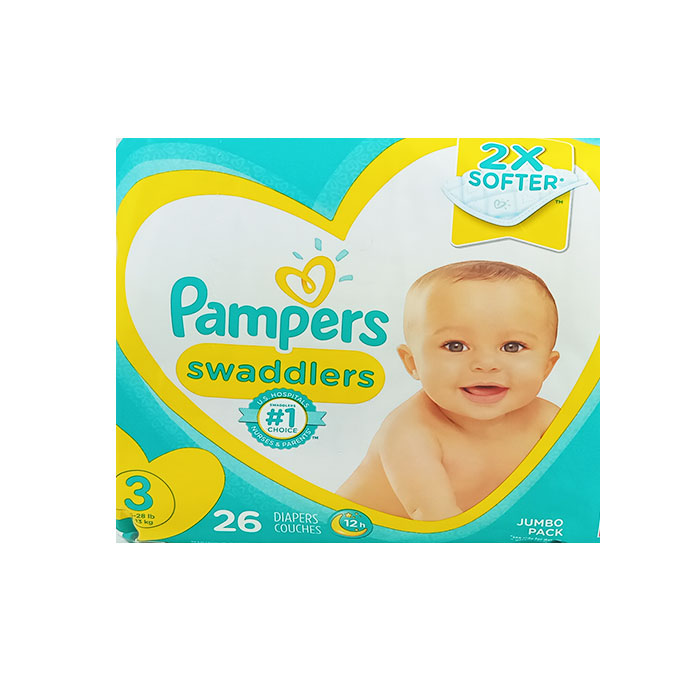 Pampers Swaddlers S3 26 Count