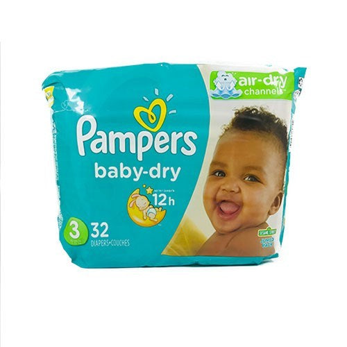 Pampers Baby Dry Size 3 32 Count