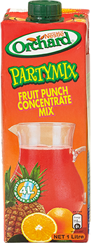 ORCHARD Party Mix Fruit Punch  1 litre