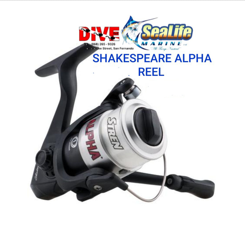 SHAKESPEARE ALPHA35 SPINNING REEL