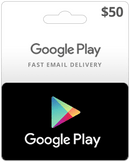 $50 USA Google Play Card (Email Delivery)