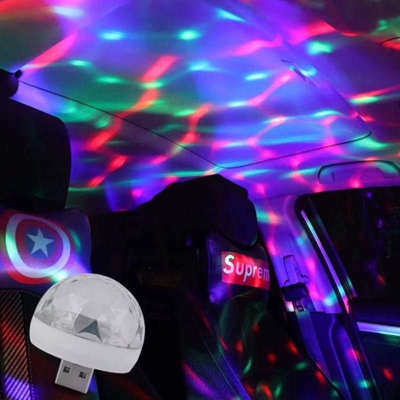 USB Disco Light with Sound Control