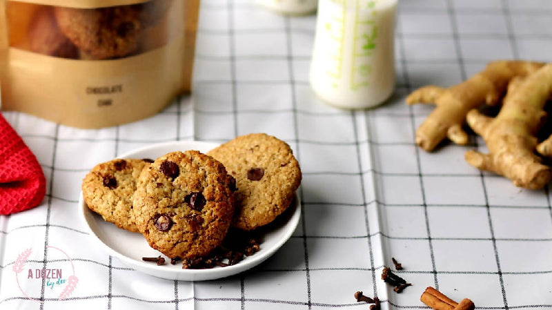 Lactation Cookies: Chocolate Chai