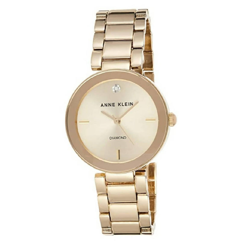 Anne Klein Diamond Dial Watch