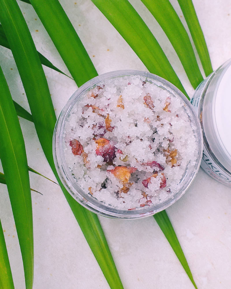 Patchouli Rose Daze scrub