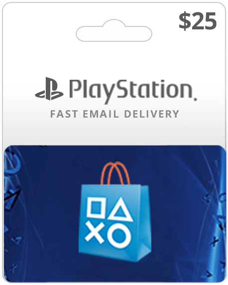 $25USD Playstation Network Card (Email Delivery)