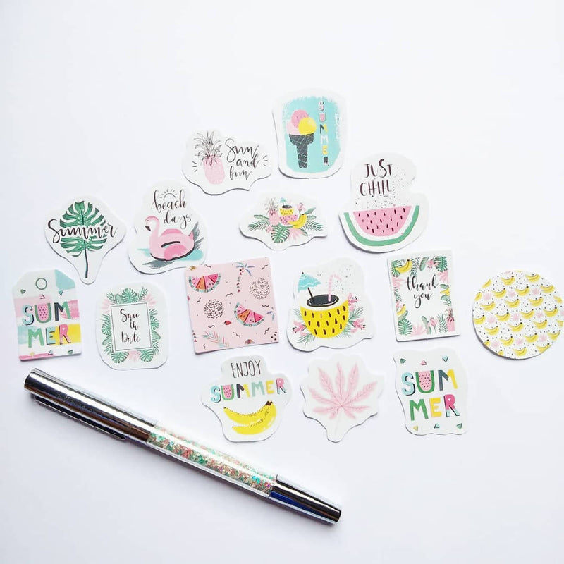 Summer Love Sticker Flakes