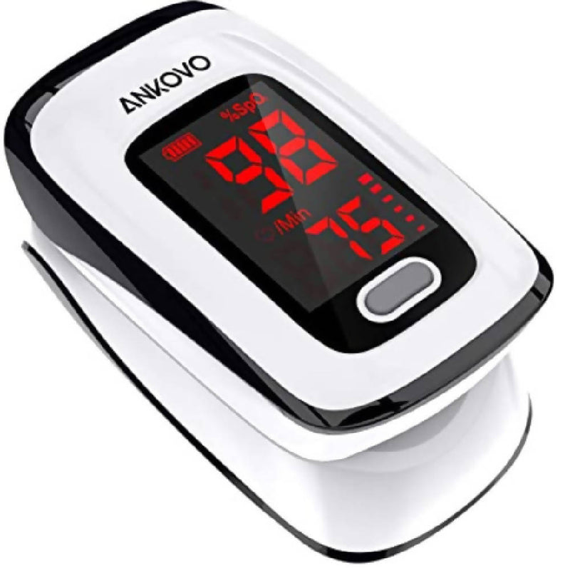 Pulse Oximeter -White/Black
