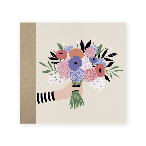 Cover Album Screw Bouquet Beige