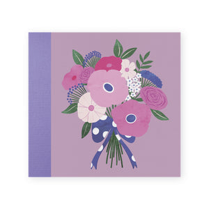Cover Album Screw Bouquet Lilac