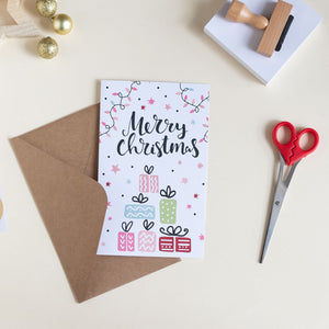 Christmas Card - Presents