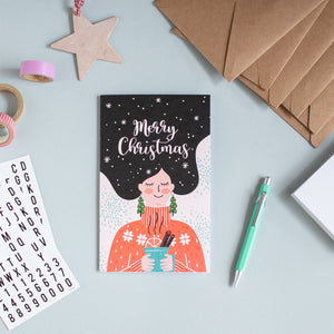 Christmas Card - Girl
