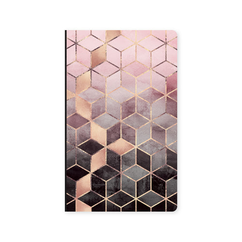 Notebook Pink Cubes