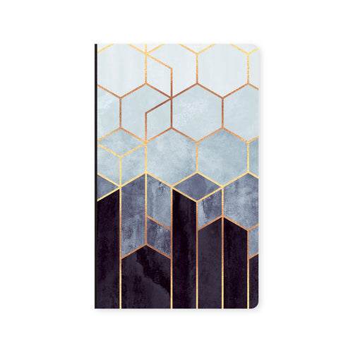Notebook Grey Hexagon
