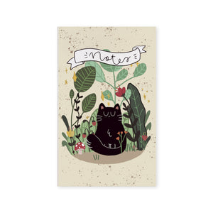 Notebook Soft - Botanic Cat