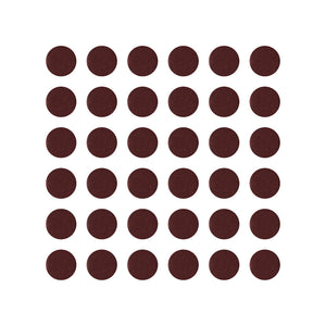 Stickers Cloth Burgundy