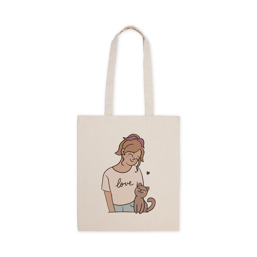 Totebag Cat Lover