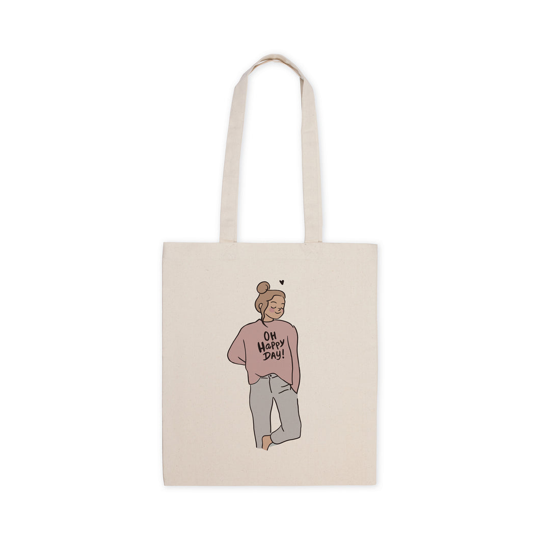 Totebag Happy Day