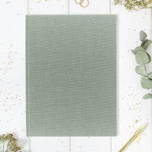 Guestbook Classic Green