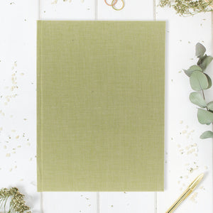 Guestbook Classic Lime