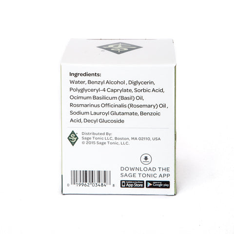FOCUS - ESSENTIAL OILS TOWELETTES - BASIL & ROSEMARY