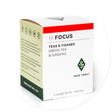 FOCUS TEA - GREEN TEA & GINSENG