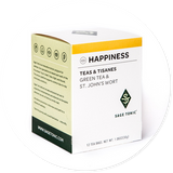 HAPPINESS TEA - GREEN TEA & ST. JOHN'S WORT