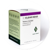 CLEAR HEAD TEA - CINNAMON & PEPPERMINT
