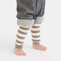 Rock Stripes Footless Tights