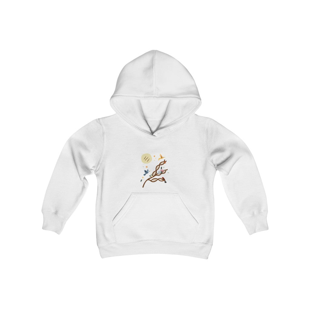 La Arepa is My Tradition Youth Heavy Blend Hooded Sweatshirt