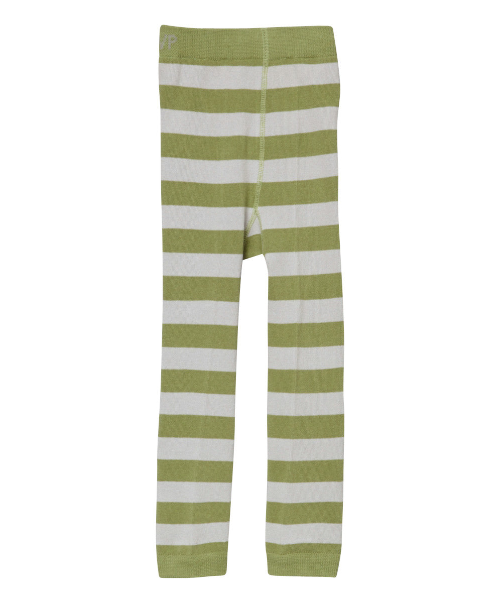 Cactus Stripes Footless Tights