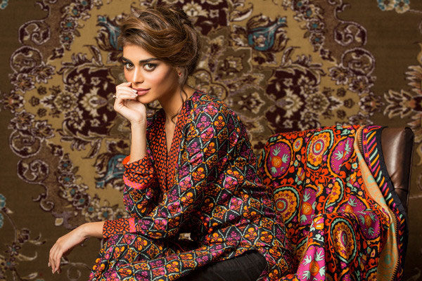 Gul Ahmed Winter 2015 Collection