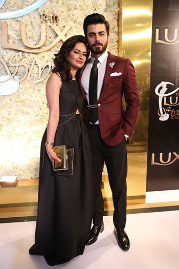 Fawad Khan at LUX Style Awards 2015 Pakistan
