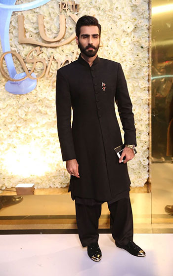 Hasnain Lehri at LUX Style Awards 2015 Pakistan