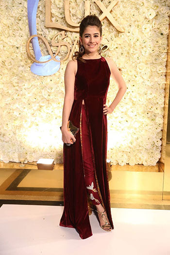 Saira Yousaf at LUX Style Awards 2015 Pakistan