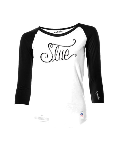 Baseball T - Slue - Female Cut