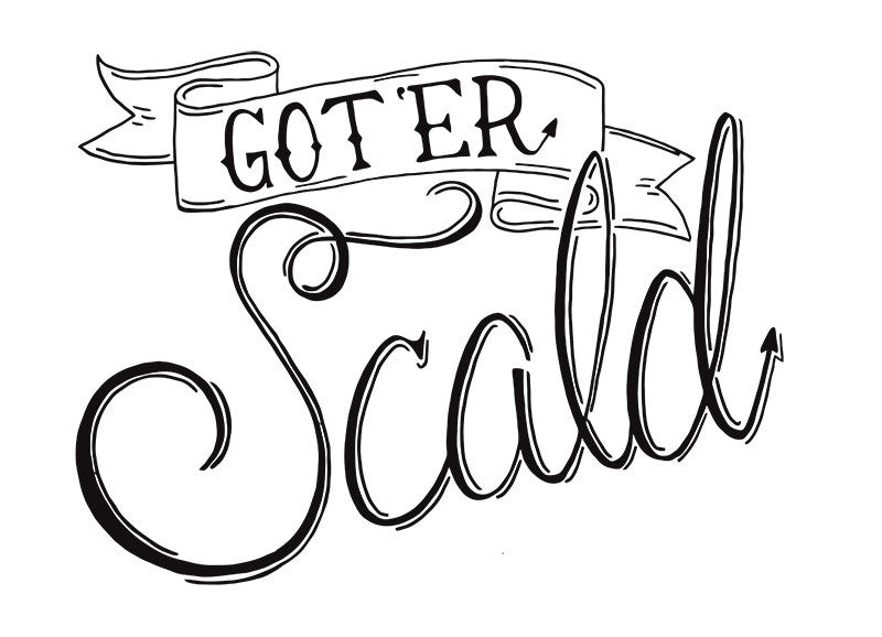Baseball T - Got Er Scald - Male Cut