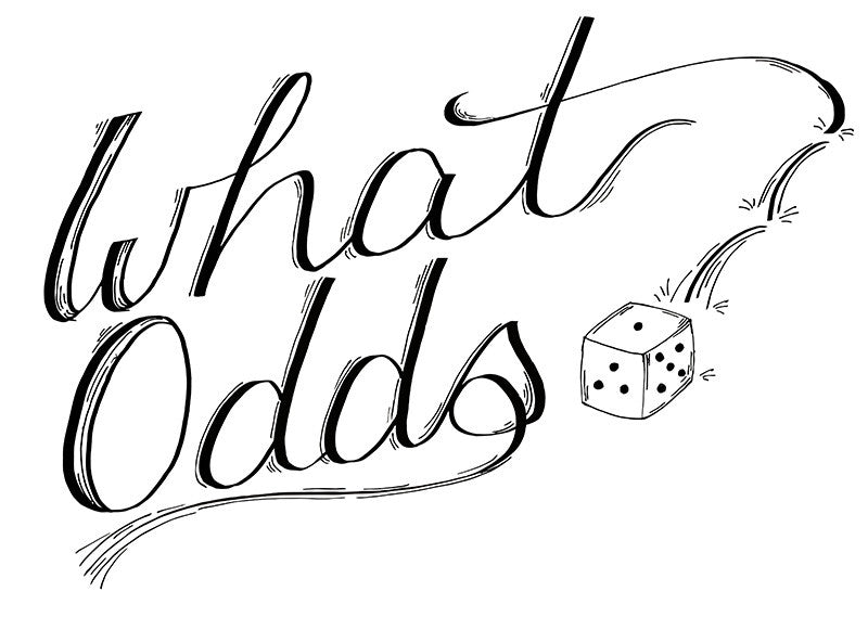 Baseball T - What Odds - Female Cut
