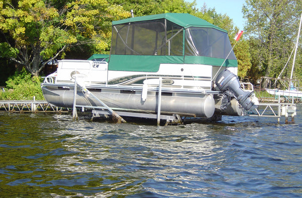 Cantilever Lift A30P for pontoon boat - BoatNDock.com