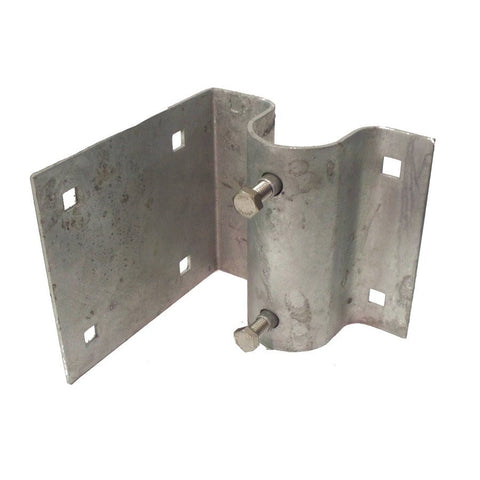 Dock Edge Corner Leg Holder, Galvanized 86-100-F - BoatNDock.com