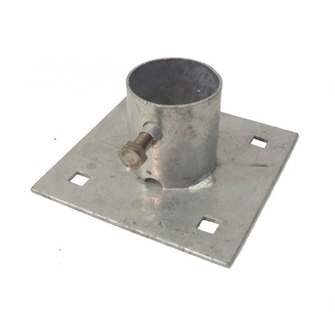 Dock Edge Base Plate, HD, Galvanized 86-102-F - BoatNDock.com