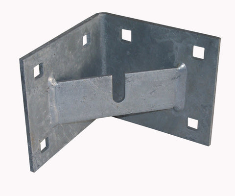 Dock Edge Corner Plate W/Anchor Chain Bar 92-116-F - BoatNDock.com