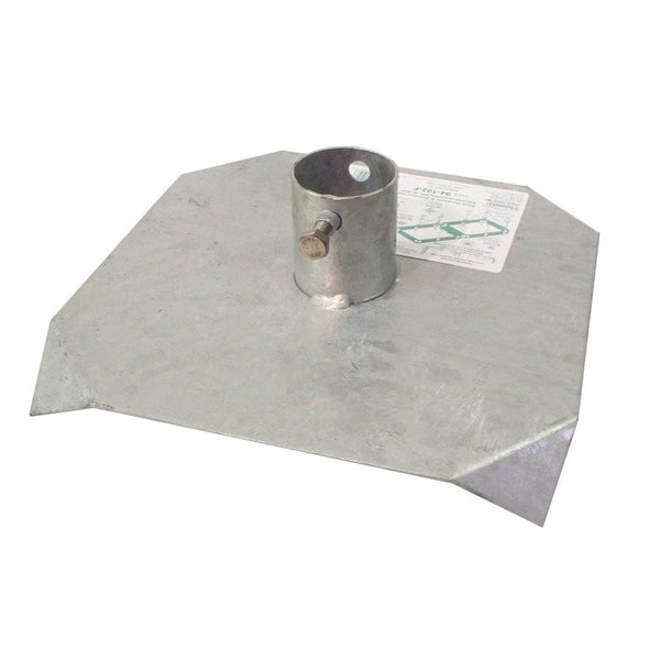 Dock Edge Bottom Pad, Galvanized 94-102-F - BoatNDock.com