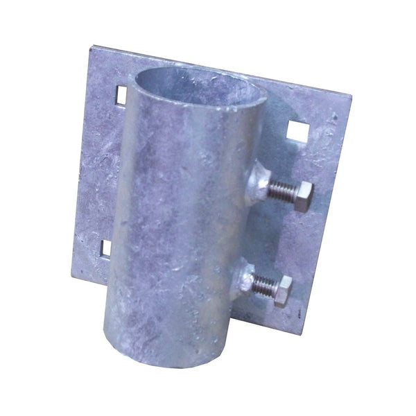 Dock Edge Side Leg Pipe Holder, HD, Galvanized 99-003-F - BoatNDock.com