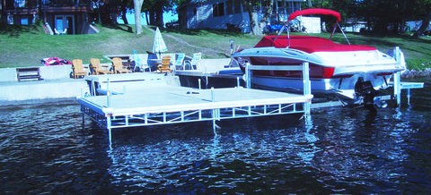Towered Lift Docks - BoatNDock.com