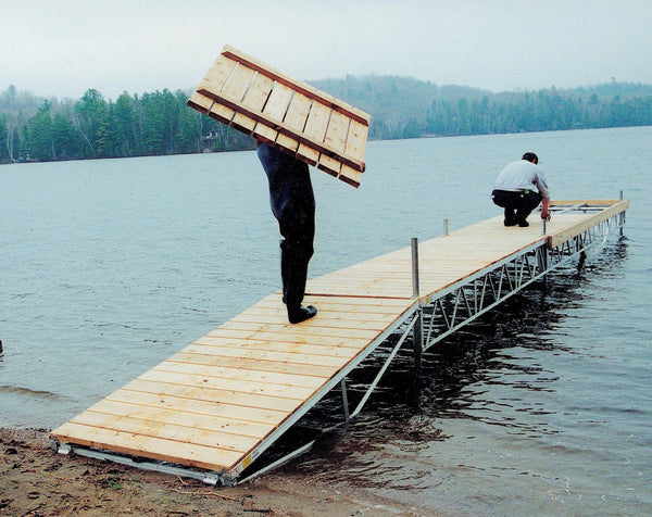 Stationary Dock - BoatNDock.com